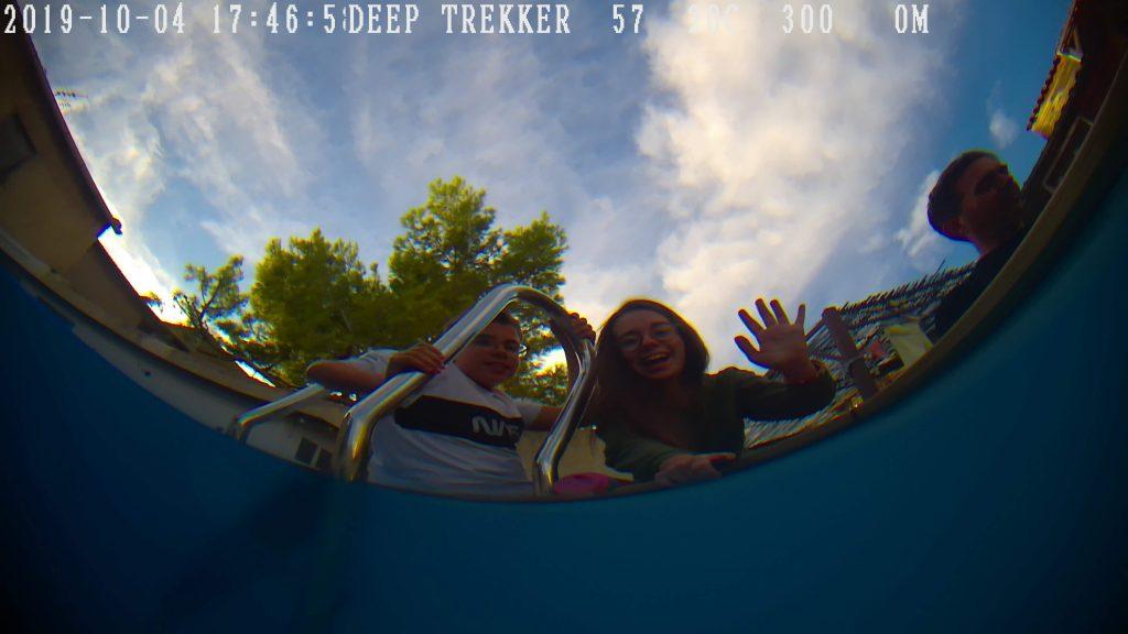 DGT3 deep trekker piscine